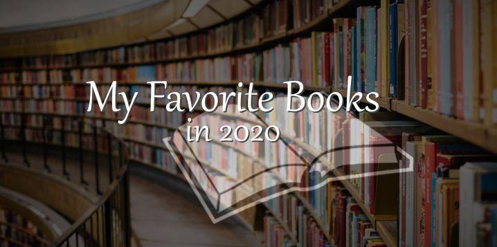 My Favorite Books in 2020 - Header Image